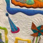 One Cake, Two Cake, Red Cake, Blue Cake by Linda Neal & Jackie Brown at AQS Quilt Week Paducah 2016