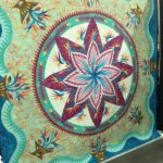 Paradise in Blooms by Cathy Burk at AQS Quilt Week Paducah 2016