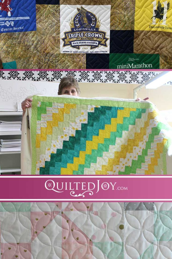 Catch up with Quilted Joy's renters and the quilts they're working on!
