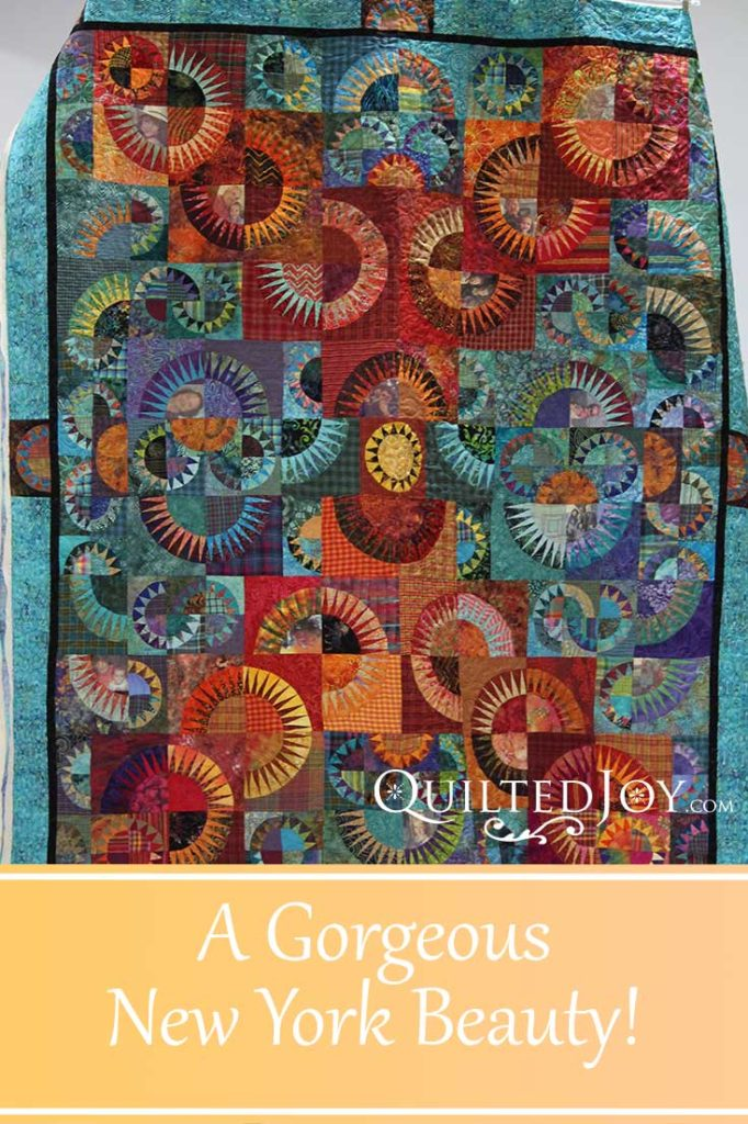 Susan, a customer, brought this gorgeous New York Beauty quilt to me for edge-to-edge quilting. It is a spectacular quilt well worth a second look.