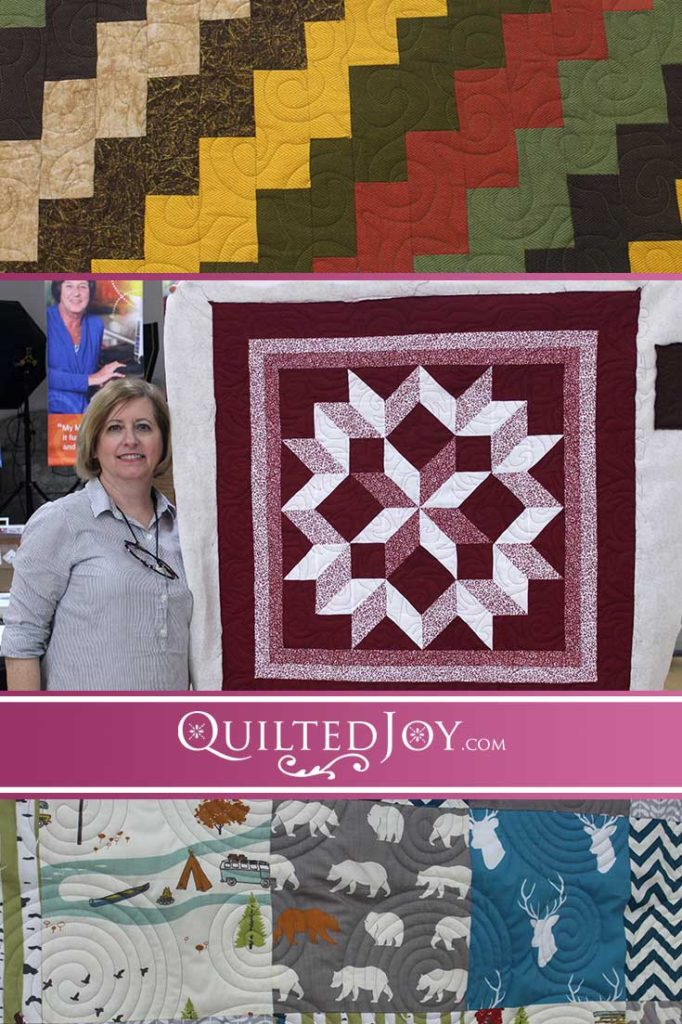 Catch up on the latest quilts our renters are working on at Quilted Joy!
