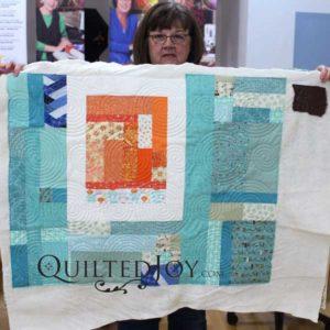 Beverly's ultra modern quilt