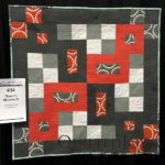 Debby's Modern X by Charlotte Noll at AQS Quilt Week Grand Rapids 2016