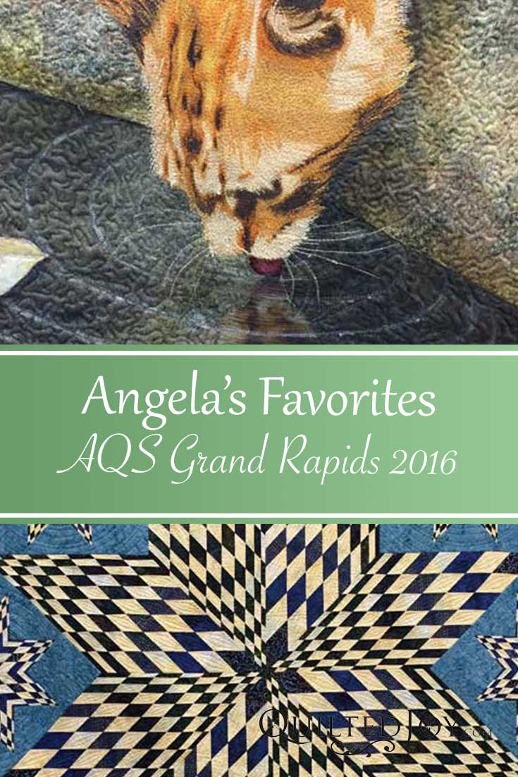 See some of Angela Huffman's favorite quilts on display at AQS Quilt Week Grand Rapids 2016