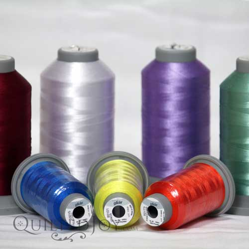 Glide Thread for Machine Quilting and Machine Embroidery
