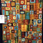 Heading West by Jill Fisher at AQS Quilt Week Grand Rapids 2016