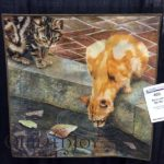 Stick With Me Kid by Jan Berg-Rezmer at AQS Quilt Week Grand Rapids 2016