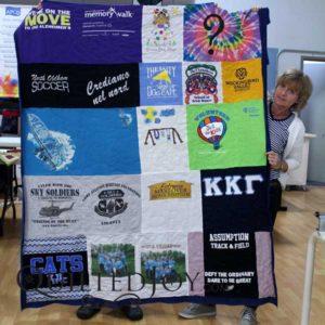 Julie's T-shirt Quilt