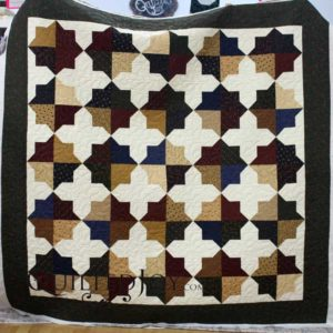 Donna's Double Square Star Quilt