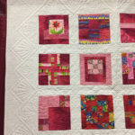 """100 Points of Color"" pieced by Nancy Eisenhauer and quilted by Jane Hair at MQX Midwest 2016"