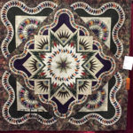 """Lone Star Round Up"" pieced by Jan Mathews and quilted by Brandy Rayburn at MQX Midwest 2016"