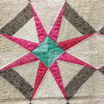 """Lover's Knot"" pieced and quilted by Heather Seminelli at MQX Midwest 2016"