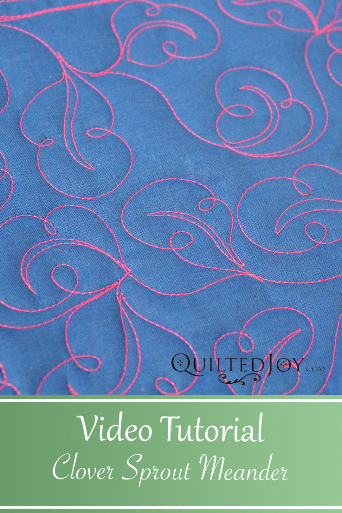 Video Tutorial Clover Sprout Meander