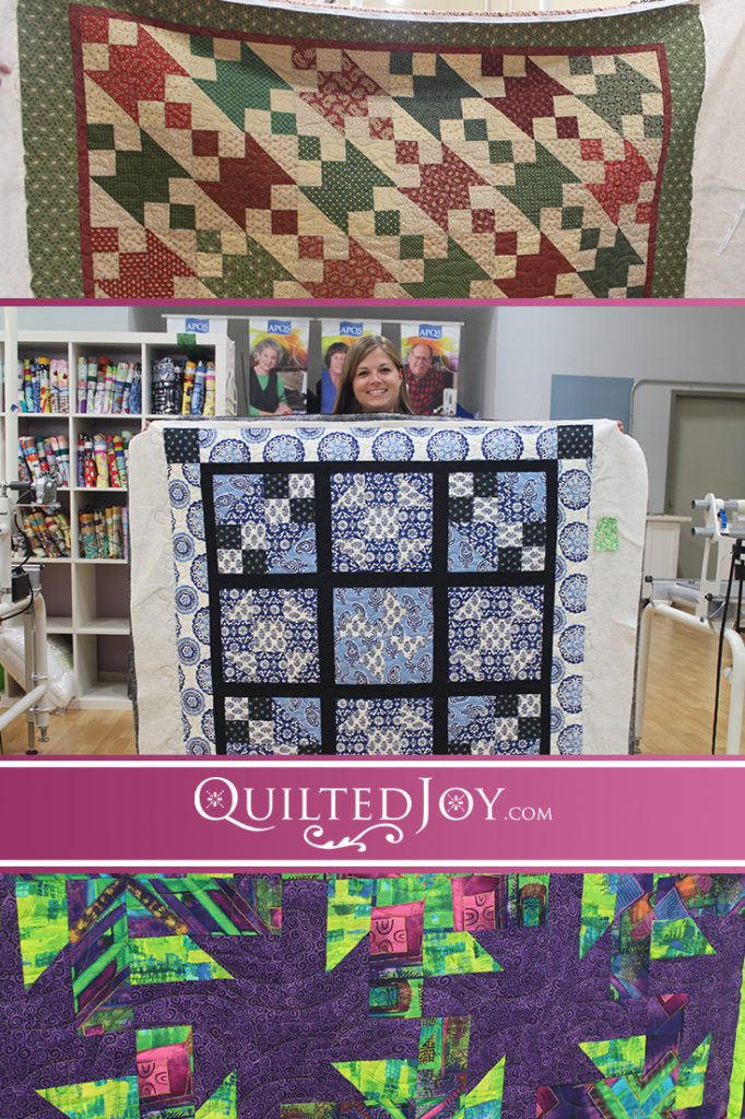 Catch up with Quilted Joy longarm renters