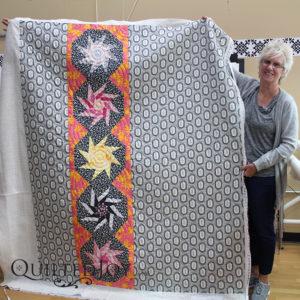Charlotte's fun modern quilt