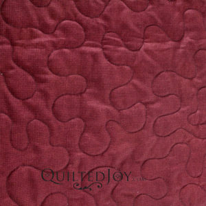 "Kansas Troubles Red fabric 108"" wide back quilt backing"