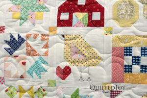 Farm Girl Quilt Chick