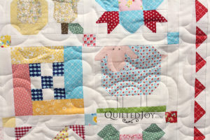Farm Girl Quilt Lamb