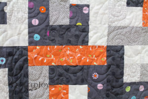 Contemporary Log Cabin Quilt