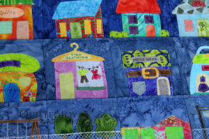 That Town and Country Block of the Day Quilt