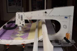 APQS Freddie Freedom Longarm Quilting Machine