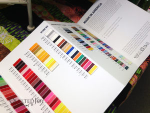 Glide Color Card