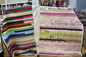 Jelly Roll Quilt Longarm Certification