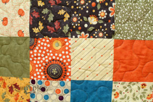 Fall Colors Quilt quilted at Quilted Joy