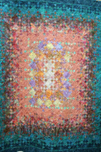 Blooming Nine Patch Quilt