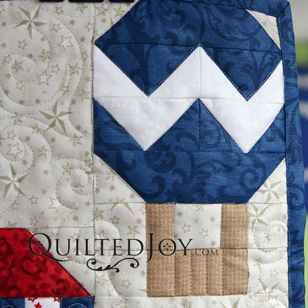 Quilted Joy Row by Row 2017