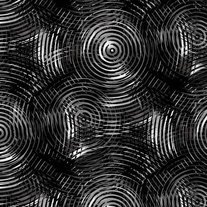 """Circle Play 108"""" Quilt Backs - Circle Black Tonal, available at Quilted Joy"""