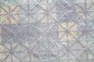 Tone on Tone Dotted Circles Quilt Backing Fabric