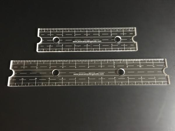 """Jessica's Edge Ruler, available in 8"""" or 12"""""""