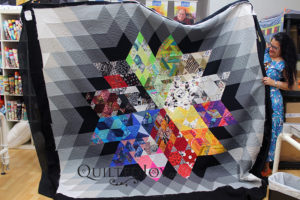 Gravity Quilt. Beginner Custom Quilting