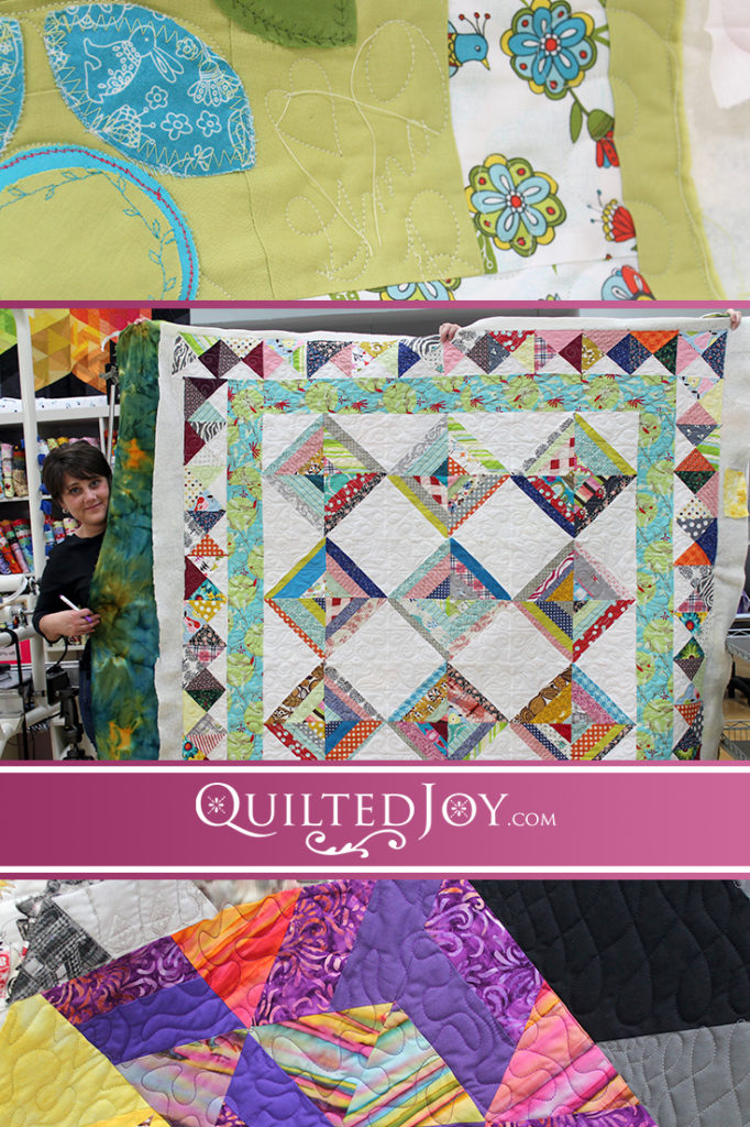 Longarm Quilting Machine Rental at Quilted Joy