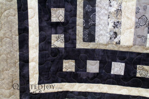 Rail Fence Quilt Variation