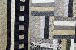 Rail Fence Variation Quilt