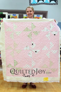 Polka Dot Chair baby quilt