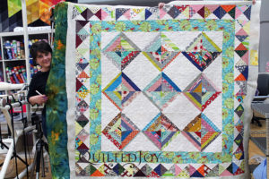 String Pieced Quilt Scrappy Quilt Custom Quilting