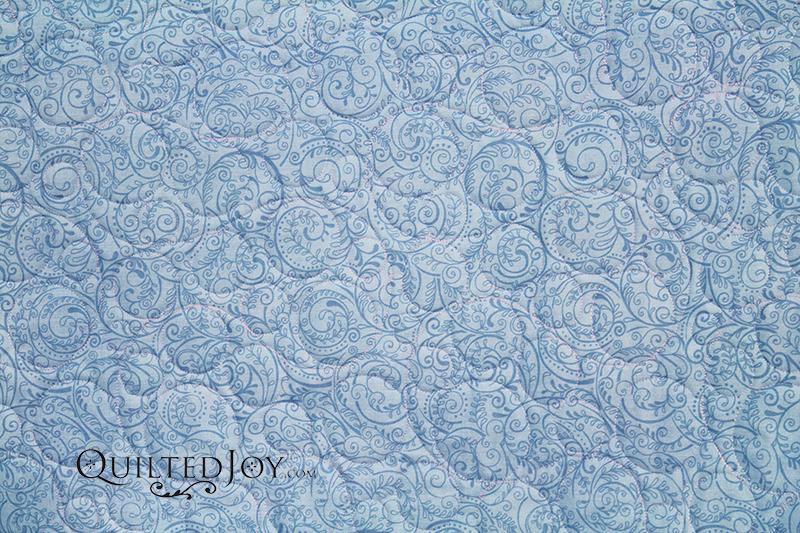 "Charleston Blue 108"" wide backing fabric"