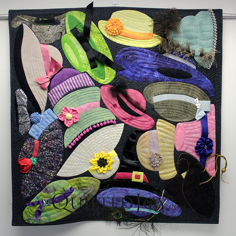Hats Off to Women Pieced and Quilted by Mary Bauer