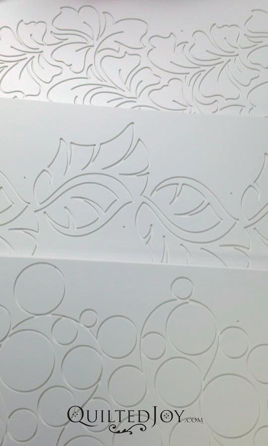 Quilting design board groovy board