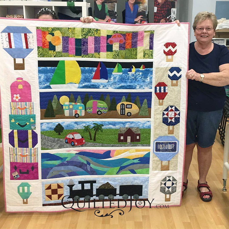 Row by Row 2017 On the Go Quilt
