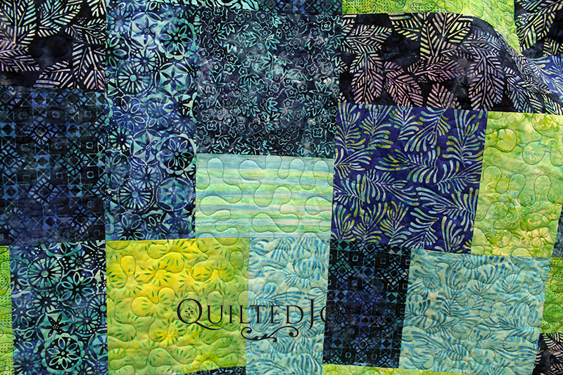 Batiks Turn Twenty Quilt