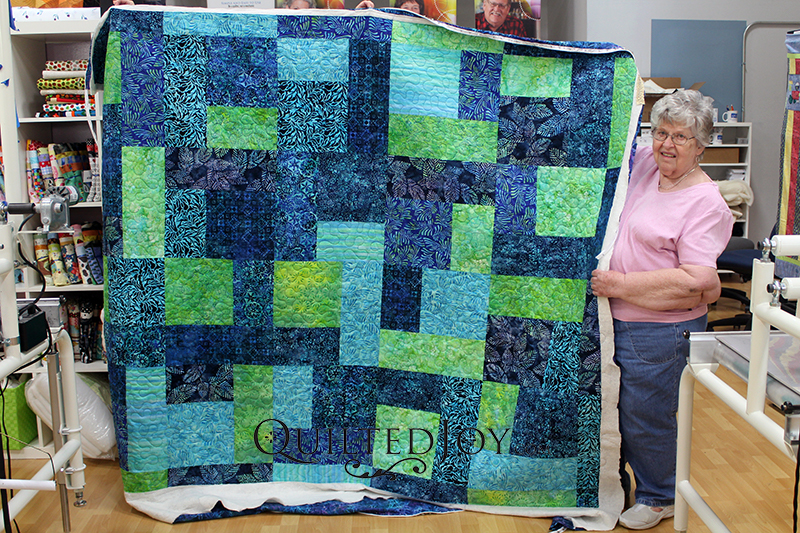 Turn Twenty Quilt Batiks