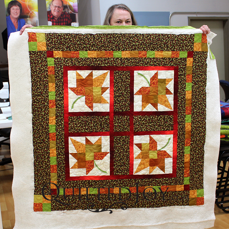 Autumn Leaf Quilt