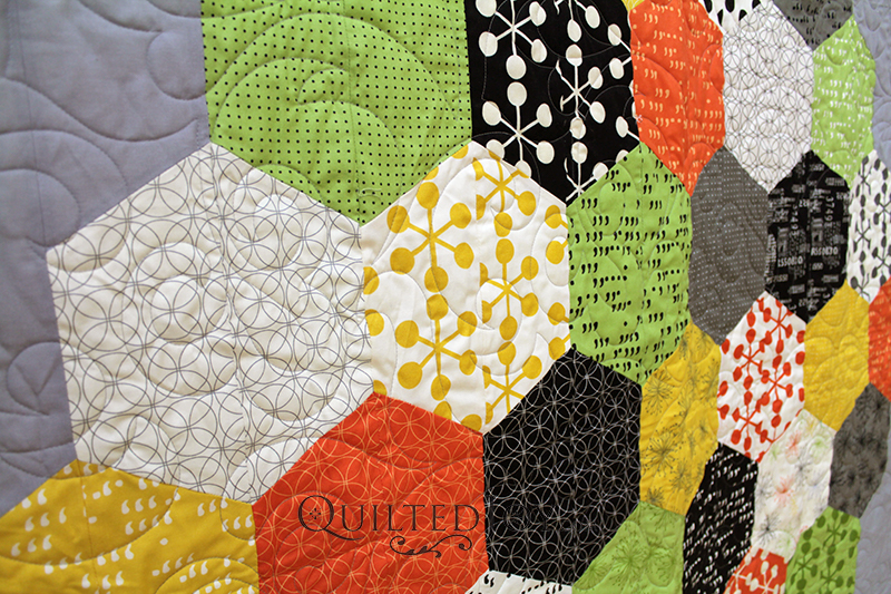 Hexagons Quilt Hexies Quilt