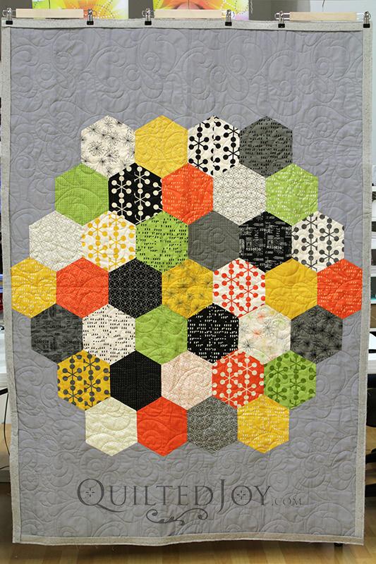 Hexagon Quilt Hexies Quilt