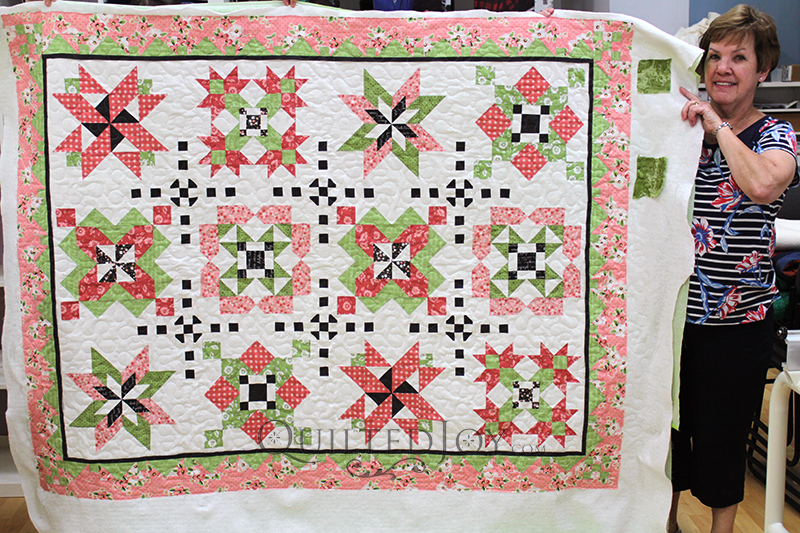 Pink and Green Sampler