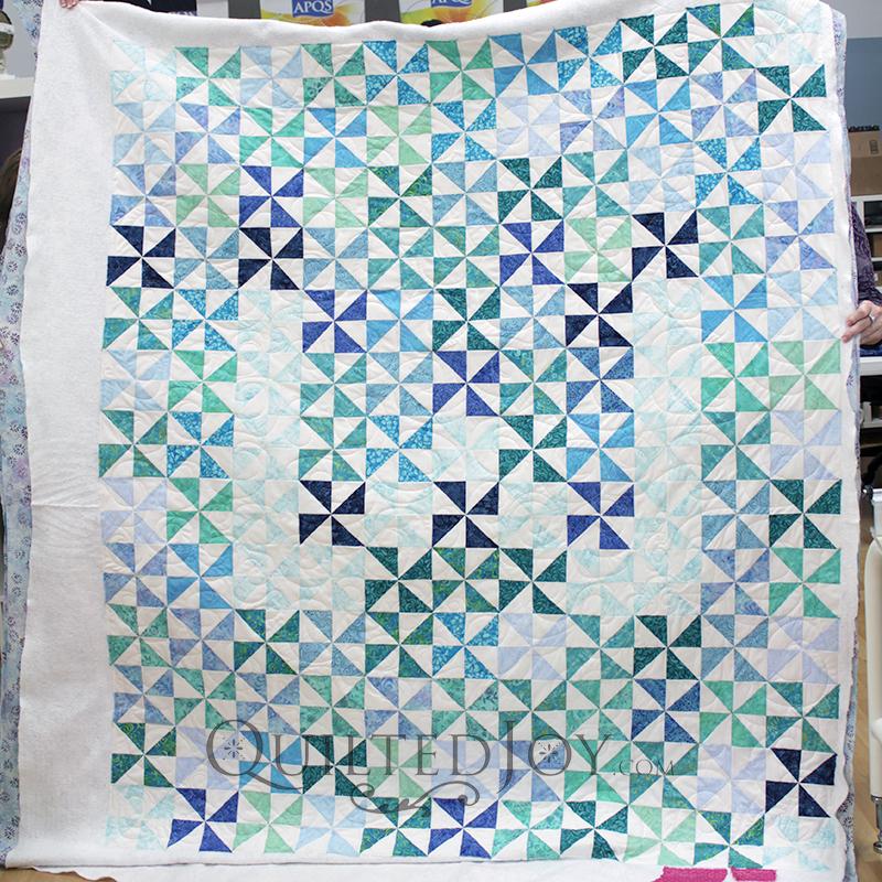Pinwheel Block Quilt